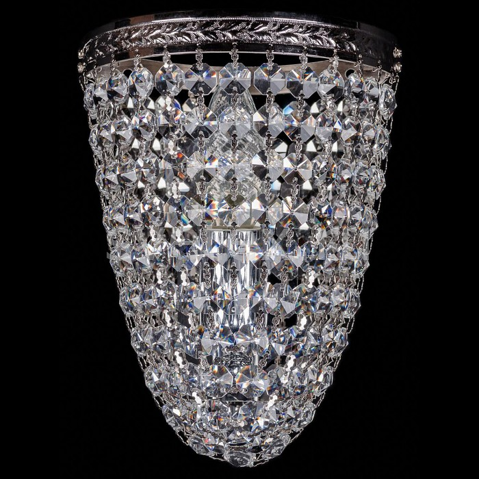 Фото Накладной светильник Bohemia Ivele Crystal 1925 1925/1/S/Ni