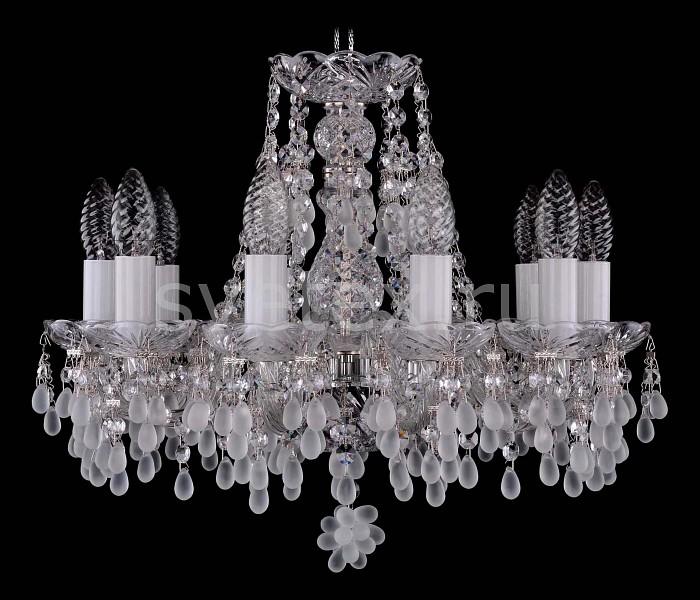 Фото Подвесная люстра Bohemia Ivele Crystal 1410 1410/10/141/Ni/0300