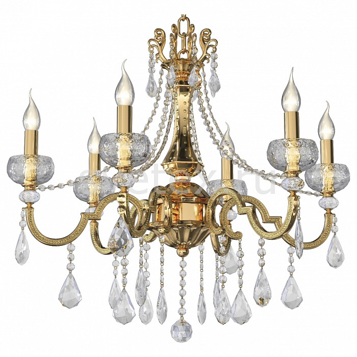 Подвесная люстра Osgona5 или 6 ламп<br>Артикул - LS_787062,Бренд - Osgona (Италия),Коллекция - Montare,Гарантия, месяцы - 24,Время изготовления, дней - 1,Высота, мм - 660-1660,Диаметр, мм - 570,Тип лампы - компактная люминесцентная [КЛЛ] ИЛИнакаливания ИЛИсветодиодная [LED],Общее кол-во ламп - 6,Напряжение питания лампы, В - 220,Максимальная мощность лампы, Вт - 60,Лампы в комплекте - отсутствуют,Цвет плафонов и подвесок - неокрашенный,Тип поверхности плафонов - прозрачный,Материал плафонов и подвесок - хрусталь,Цвет арматуры - золото, неокрашенный,Тип поверхности арматуры - глянцевый,Материал арматуры - металл, стекло,Возможность подлючения диммера - можно, если установить лампу накаливания,Форма и тип колбы - свеча ИЛИ свеча на ветру,Тип цоколя лампы - E14,Класс электробезопасности - I,Общая мощность, Вт - 360,Степень пылевлагозащиты, IP - 20,Диапазон рабочих температур - комнатная температура<br>