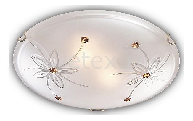 Накладной светильник SonexКруглые<br>Артикул - SN_149_K,Бренд - Sonex (Россия),Коллекция - Floret,Гарантия, месяцы - 24,Выступ, мм - 100,Диаметр, мм - 300,Тип лампы - компактная люминесцентная [КЛЛ] ИЛИнакаливания ИЛИсветодиодная [LED],Общее кол-во ламп - 2,Напряжение питания лампы, В - 220,Максимальная мощность лампы, Вт - 60,Лампы в комплекте - отсутствуют,Цвет плафонов и подвесок - белый с прозрачным рисунком, янтарный,Тип поверхности плафонов - матовый, прозрачный,Материал плафонов и подвесок - стекло,Цвет арматуры - золото,Тип поверхности арматуры - глянцевый,Материал арматуры - металл,Количество плафонов - 1,Возможность подлючения диммера - можно, если установить лампу накаливания,Тип цоколя лампы - E27,Класс электробезопасности - I,Общая мощность, Вт - 120,Степень пылевлагозащиты, IP - 20,Диапазон рабочих температур - комнатная температура<br>