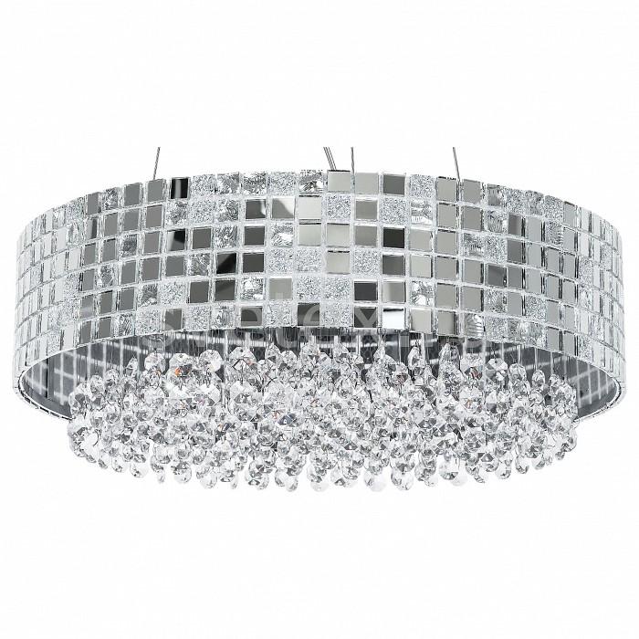 Подвесной светильник LightstarСветильники<br>Артикул - LS_743164,Бренд - Lightstar (Италия),Коллекция - Bezazz,Гарантия, месяцы - 24,Высота, мм - 250-900,Диаметр, мм - 410,Тип лампы - галогеновая,Общее кол-во ламп - 6,Напряжение питания лампы, В - 220,Максимальная мощность лампы, Вт - 40,Лампы в комплекте - галогеновые G9,Цвет плафонов и подвесок - неокрашенный, хром,Тип поверхности плафонов - глянцевый, прозрачный,Материал плафонов и подвесок - металл, хрусталь,Цвет арматуры - хром,Тип поверхности арматуры - глянцевый,Материал арматуры - металл,Количество плафонов - 1,Возможность подлючения диммера - можно,Форма и тип колбы - пальчиковая,Тип цоколя лампы - G9,Класс электробезопасности - I,Общая мощность, Вт - 240,Степень пылевлагозащиты, IP - 20,Диапазон рабочих температур - комнатная температура,Дополнительные параметры - способ крепления светильника к потолку - на монтажной пластине, регулируется по высоте<br>