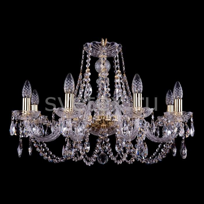 Подвесная люстра Bohemia Ivele CrystalБолее 6 ламп<br>Артикул - BI_1406_8_240_G,Бренд - Bohemia Ivele Crystal (Чехия),Коллекция - 1406,Гарантия, месяцы - 24,Высота, мм - 460,Диаметр, мм - 700,Размер упаковки, мм - 710x710x350,Тип лампы - компактная люминесцентная [КЛЛ] ИЛИнакаливания ИЛИсветодиодная [LED],Общее кол-во ламп - 8,Напряжение питания лампы, В - 220,Максимальная мощность лампы, Вт - 40,Лампы в комплекте - отсутствуют,Цвет плафонов и подвесок - неокрашенный,Тип поверхности плафонов - прозрачный,Материал плафонов и подвесок - хрусталь,Цвет арматуры - золото, неокрашенный,Тип поверхности арматуры - глянцевый, прозрачный, рельефный,Материал арматуры - металл, стекло,Возможность подлючения диммера - можно, если установить лампу накаливания,Форма и тип колбы - свеча ИЛИ свеча на ветру,Тип цоколя лампы - E14,Класс электробезопасности - I,Общая мощность, Вт - 320,Степень пылевлагозащиты, IP - 20,Диапазон рабочих температур - комнатная температура,Дополнительные параметры - способ крепления светильника к потолку - на крюке, указана высота светильника без подвеса<br>