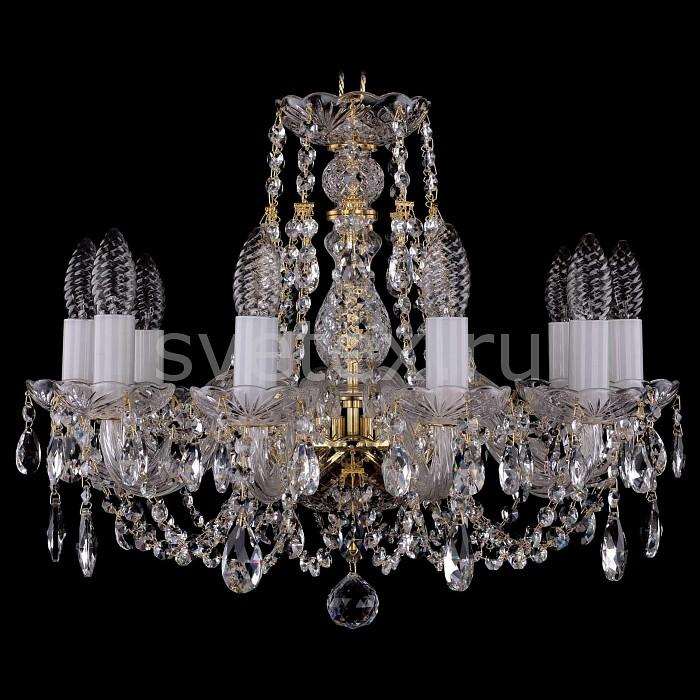 Фото Подвесная люстра Bohemia Ivele Crystal 1406 1406/10/160/G