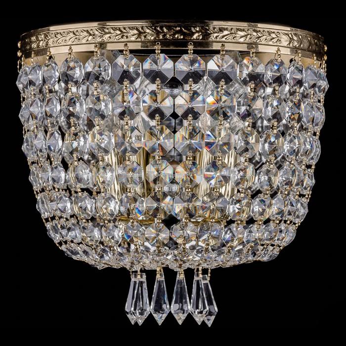 Фото Накладной светильник Bohemia Ivele Crystal 1927 1927/2/W/G