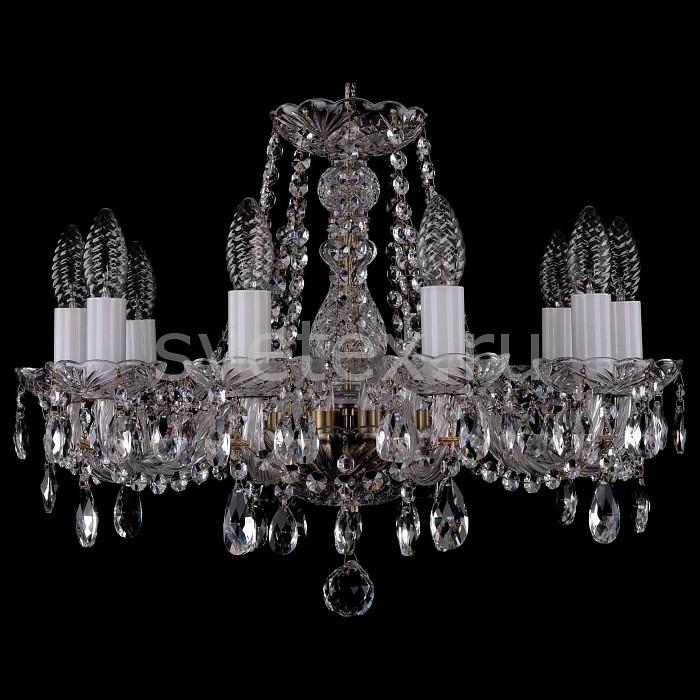 Фото Подвесная люстра Bohemia Ivele Crystal 1402 1402/10/160/Pa