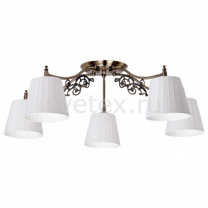 Потолочная люстра MW-LightСветильники<br>Артикул - MW_372011105,Бренд - MW-Light (Германия),Коллекция - Моника 2,Гарантия, месяцы - 12,Высота, мм - 260,Диаметр, мм - 750,Размер упаковки, мм - 230x350x190,Тип лампы - компактная люминесцентная [КЛЛ] ИЛИнакаливания ИЛИсветодиодная [LED],Общее кол-во ламп - 5,Напряжение питания лампы, В - 220,Максимальная мощность лампы, Вт - 60,Лампы в комплекте - отсутствуют,Цвет плафонов и подвесок - белый,Тип поверхности плафонов - матовый,Материал плафонов и подвесок - текстиль,Цвет арматуры - бронза,Тип поверхности арматуры - глянцевый,Материал арматуры - металл,Количество плафонов - 5,Возможность подлючения диммера - можно, если установить лампу накаливания,Тип цоколя лампы - E14,Класс электробезопасности - I,Общая мощность, Вт - 300,Степень пылевлагозащиты, IP - 20,Диапазон рабочих температур - комнатная температура,Дополнительные параметры - способ крепления светильника к потолку – на монтажной пластине<br>