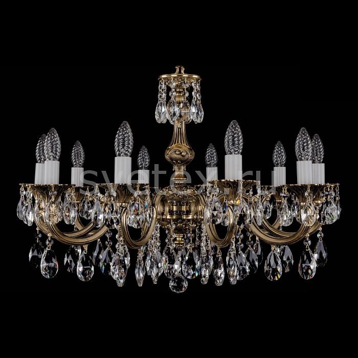 Фото Подвесная люстра Bohemia Ivele Crystal 1702 1702/10/A/GB