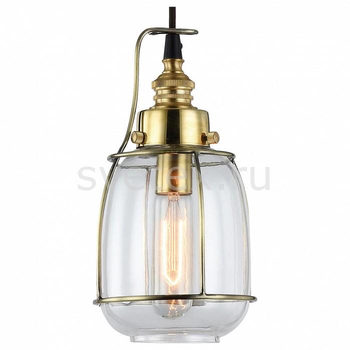 Подвесной светильник LussoleСветильники<br>Артикул - LSP-9677,Бренд - Lussole (Италия),Коллекция - Loft,Гарантия, месяцы - 24,Время изготовления, дней - 1,Высота, мм - 1280,Диаметр, мм - 130,Тип лампы - накаливания,Общее кол-во ламп - 1,Напряжение питания лампы, В - 220,Максимальная мощность лампы, Вт - 40,Цвет лампы - белый теплый,Лампы в комплекте - накаливания E14,Цвет плафонов и подвесок - неокрашенный,Тип поверхности плафонов - прозрачный,Материал плафонов и подвесок - стекло,Цвет арматуры - бронза, черный,Тип поверхности арматуры - глянцевый,Материал арматуры - металл,Количество плафонов - 1,Возможность подлючения диммера - можно,Форма и тип колбы - пальчиковая,Тип цоколя лампы - E14,Цветовая температура, K - 2700 K,Класс электробезопасности - I,Степень пылевлагозащиты, IP - 20,Диапазон рабочих температур - комнатная температура,Дополнительные параметры - способ крепления светильника к потолку – на монтажной пластине<br>