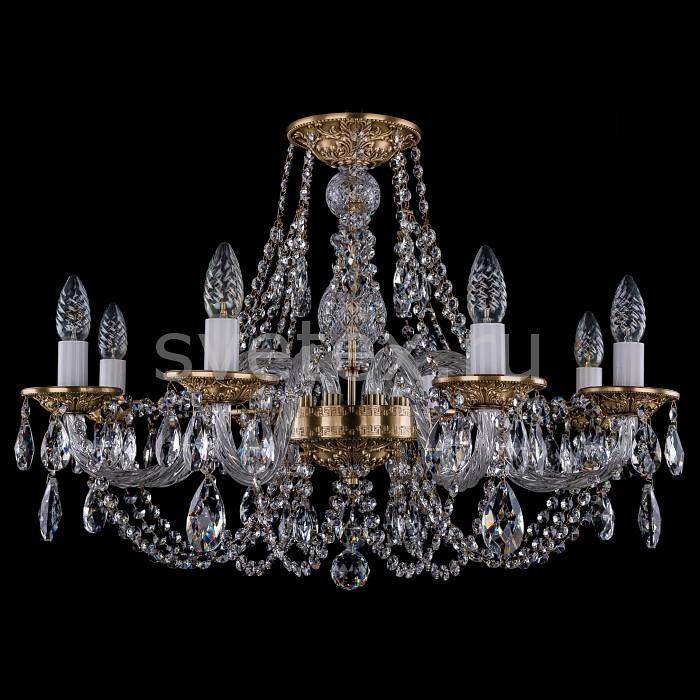 Фото Подвесная люстра Bohemia Ivele Crystal 1606 1606/8/240/FP