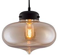 Подвесной светильник Kink LightДля кухни<br>Артикул - KL_4703-1A.12,Бренд - Kink Light (Китай),Коллекция - Капелла,Гарантия, месяцы - 12,Высота, мм - 1200,Диаметр, мм - 260,Размер упаковки, мм - 390x325x325,Тип лампы - компактная люминесцентная [КЛЛ] ИЛИнакаливания ИЛИсветодиодная [LED],Общее кол-во ламп - 1,Напряжение питания лампы, В - 220,Максимальная мощность лампы, Вт - 40,Лампы в комплекте - отсутствуют,Цвет плафонов и подвесок - янтарный,Тип поверхности плафонов - прозрачный,Материал плафонов и подвесок - стекло,Цвет арматуры - черный,Тип поверхности арматуры - матовый,Материал арматуры - металл,Количество плафонов - 1,Возможность подлючения диммера - можно, если установить лампу накаливания,Тип цоколя лампы - E27,Класс электробезопасности - I,Степень пылевлагозащиты, IP - 20,Диапазон рабочих температур - комнатная температура,Дополнительные параметры - способ крепления к потолку - на монтажной пластине<br>
