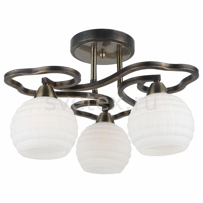 Потолочная люстра Arte LampЛюстры<br>Артикул - AR_A6379PL-3GA,Бренд - Arte Lamp (Италия),Коллекция - Lana,Гарантия, месяцы - 24,Высота, мм - 270,Диаметр, мм - 460,Размер упаковки, мм - 420x395x180,Тип лампы - компактная люминесцентная [КЛЛ] ИЛИнакаливания ИЛИсветодиодная [LED],Общее кол-во ламп - 3,Напряжение питания лампы, В - 220,Максимальная мощность лампы, Вт - 40,Лампы в комплекте - отсутствуют,Цвет плафонов и подвесок - белый,Тип поверхности плафонов - матовый, рельефный,Материал плафонов и подвесок - стекло,Цвет арматуры - золото античное,Тип поверхности арматуры - матовый,Материал арматуры - металл,Количество плафонов - 3,Возможность подлючения диммера - можно, если установить лампу накаливания,Тип цоколя лампы - E14,Класс электробезопасности - I,Общая мощность, Вт - 120,Степень пылевлагозащиты, IP - 20,Диапазон рабочих температур - комнатная температура,Дополнительные параметры - способ крепления светильника к потолку – на монтажной пластине<br>