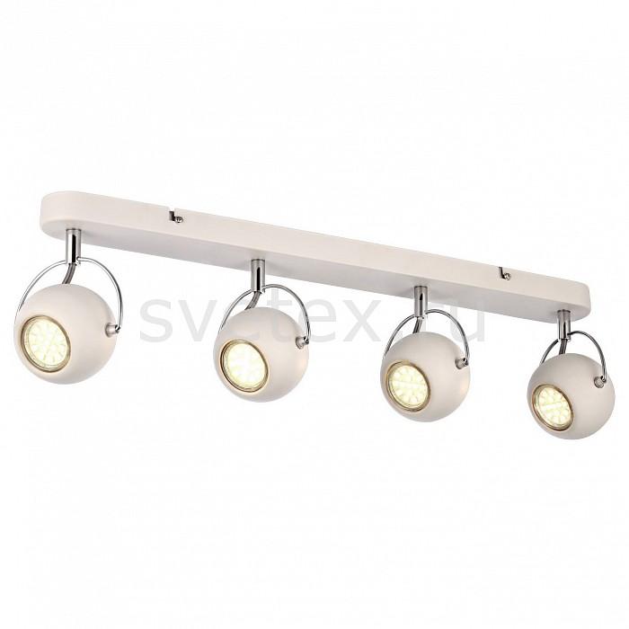 Спот Arte LampСпоты<br>Артикул - AR_A9128PL-4WH,Бренд - Arte Lamp (Италия),Коллекция - Spia,Гарантия, месяцы - 24,Длина, мм - 620,Ширина, мм - 120,Выступ, мм - 160,Тип лампы - галогеновая ИЛИсветодиодная [LED],Общее кол-во ламп - 4,Напряжение питания лампы, В - 220,Максимальная мощность лампы, Вт - 50,Лампы в комплекте - отсутствуют,Цвет плафонов и подвесок - белый,Тип поверхности плафонов - матовый,Материал плафонов и подвесок - металл,Цвет арматуры - белый,Тип поверхности арматуры - матовый,Материал арматуры - металл,Количество плафонов - 4,Возможность подлючения диммера - можно, если установить галогеновую лампу,Форма и тип колбы - полусферическая с рефлектором,Тип цоколя лампы - GU10,Класс электробезопасности - I,Общая мощность, Вт - 200,Степень пылевлагозащиты, IP - 20,Диапазон рабочих температур - комнатная температура,Дополнительные параметры - способ крепления светильника к стене и потолку - на монтажной пластине, повоторный светильник<br>