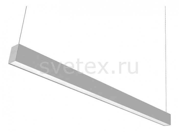 Подвесной светильник Led EffectСветильники<br>Артикул - LED_414833,Бренд - Led Effect (Россия),Коллекция - Стрела,Гарантия, месяцы - 24,Длина, мм - 1450,Ширина, мм - 65,Высота, мм - 100,Тип лампы - светодиодная [LED],Общее кол-во ламп - 1,Напряжение питания лампы, В - 220,Максимальная мощность лампы, Вт - 60,Цвет лампы - белый теплый,Лампы в комплекте - светодиодная [LED],Цвет плафонов и подвесок - белый,Тип поверхности плафонов - матовый,Материал плафонов и подвесок - полимер,Цвет арматуры - серый,Тип поверхности арматуры - матовый,Материал арматуры - металл,Количество плафонов - 1,Необходимые компоненты - комплект для подвесного монтажа арт. LE-0962,Компоненты, входящие в комплект - нет,Цветовая температура, K - 3000 K,Световой поток, лм - 4250,Экономичнее лампы накаливания - В 4, 4 раза,Светоотдача, лм/Вт - 71,Ресурс лампы - 50 тыс. час.,Класс электробезопасности - I,Коэффициент мощности - 0.9,Степень пылевлагозащиты, IP - 20,Диапазон рабочих температур - от -0^C до +45^C,Индекс цветопередачи, % - 80,Пульсации светового потока, % менее - 1,Климатическое исполнение - УХЛ 4,Дополнительные параметры - опаловый рассеиватель, дополнительные опции:угловое соединение LE-0936кронштейн для настенного монтажа LE-0935комплект для подвесного монтажа LE-0962торцевое соединение LE-0968соединения типа «Перекресток» LE-0969<br>
