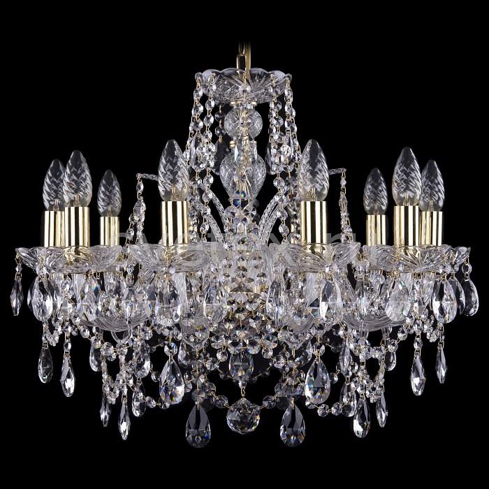 Фото Подвесная люстра Bohemia Ivele Crystal 1411 1411/10/195/G