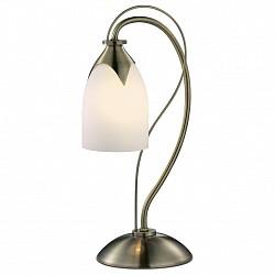 Настольная лампа Odeon LightСтеклянный плафон<br>Артикул - OD_2079_1T,Бренд - Odeon Light (Италия),Коллекция - Risto,Гарантия, месяцы - 24,Время изготовления, дней - 1,Высота, мм - 380,Диаметр, мм - 177,Тип лампы - компактная люминесцентная [КЛЛ] ИЛИнакаливания ИЛИсветодиодная [LED],Общее кол-во ламп - 1,Напряжение питания лампы, В - 220,Максимальная мощность лампы, Вт - 60,Лампы в комплекте - отсутствуют,Цвет плафонов и подвесок - белый,Тип поверхности плафонов - матовый,Материал плафонов и подвесок - стекло,Цвет арматуры - бронза,Тип поверхности арматуры - глянцевый,Материал арматуры - металл,Тип цоколя лампы - E14,Класс электробезопасности - II,Степень пылевлагозащиты, IP - 20,Диапазон рабочих температур - комнатная температура<br>
