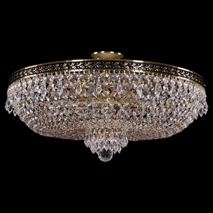 Фото Люстра на штанге Bohemia Ivele Crystal 1927 1927/55Z/GB