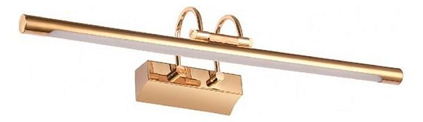 Подсветка для картин Kink LightСветодиодные<br>Артикул - KL_6437-2.33,Бренд - Kink Light (Китай),Коллекция - Проекция,Гарантия, месяцы - 24,Ширина, мм - 550,Высота, мм - 45,Размер упаковки, мм - 140x620x190,Тип лампы - светодиодная [LED],Общее кол-во ламп - 1,Напряжение питания лампы, В - 220,Максимальная мощность лампы, Вт - 7,Цвет лампы - белый,Лампы в комплекте - светодиодная [LED],Цвет плафонов и подвесок - золото,Тип поверхности плафонов - глянцевый,Материал плафонов и подвесок - металл,Цвет арматуры - золото,Тип поверхности арматуры - глянцевый,Материал арматуры - металл,Количество плафонов - 1,Наличие выключателя, диммера или пульта ДУ - выключатель,Цветовая температура, K - 4000 K,Световой поток, лм - 455,Экономичнее лампы накаливания - В 6, 6 раза,Светоотдача, лм/Вт - 65,Класс электробезопасности - I,Степень пылевлагозащиты, IP - 20,Диапазон рабочих температур - комнатная температура,Дополнительные параметры - способ крепления светильника к стене - на монтажной пластине, светильник предназначен для использования со скрытой проводкой<br>