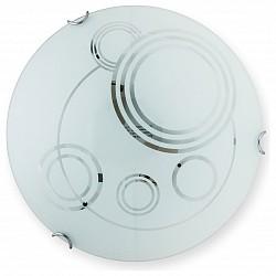Накладной светильник TopLightКруглые<br>Артикул - TPL_TL9001Y-02WH,Бренд - TopLight (Россия),Коллекция - Margaret,Гарантия, месяцы - 24,Диаметр, мм - 300,Размер упаковки, мм - 350x120x350,Тип лампы - компактная люминесцентная [КЛЛ] ИЛИнакаливания ИЛИсветодиодная [LED],Общее кол-во ламп - 2,Напряжение питания лампы, В - 220,Максимальная мощность лампы, Вт - 60,Лампы в комплекте - отсутствуют,Цвет плафонов и подвесок - белый с неокрашенным рисунком,Тип поверхности плафонов - матовый,Материал плафонов и подвесок - стекло,Цвет арматуры - хром,Тип поверхности арматуры - глянцевый,Материал арматуры - металл,Возможность подлючения диммера - можно, если установить лампу накаливания,Тип цоколя лампы - E27,Класс электробезопасности - I,Общая мощность, Вт - 120,Степень пылевлагозащиты, IP - 20,Диапазон рабочих температур - комнатная температура,Дополнительные параметры - способ крепления светильника к потолку и к стене - на монтажной пластине<br>