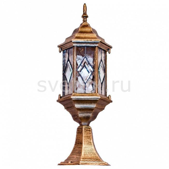 Наземный низкий светильник FeronСветильники<br>Артикул - FE_11346,Бренд - Feron (Китай),Коллекция - Витраж с ромбом,Гарантия, месяцы - 24,Ширина, мм - 165,Высота, мм - 450,Выступ, мм - 165,Тип лампы - компактная люминесцентная [КЛЛ] ИЛИнакаливания ИЛИсветодиодная [LED],Общее кол-во ламп - 1,Напряжение питания лампы, В - 220,Максимальная мощность лампы, Вт - 60,Лампы в комплекте - отсутствуют,Цвет плафонов и подвесок - неокрашенный,Тип поверхности плафонов - прозрачный, рельефный,Материал плафонов и подвесок - стекло,Цвет арматуры - золото черненое,Тип поверхности арматуры - матовый, рельефный,Материал арматуры - силумин,Количество плафонов - 1,Тип цоколя лампы - E27,Класс электробезопасности - I,Степень пылевлагозащиты, IP - 44,Диапазон рабочих температур - от -40^C до +40^C<br>