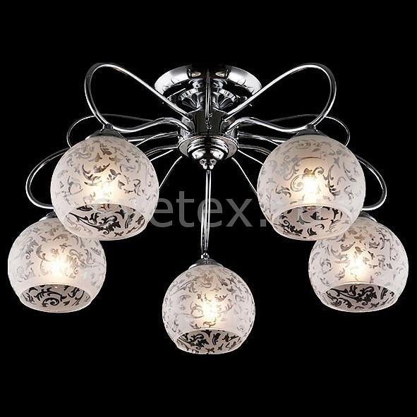 Потолочная люстра ОптимаЛюстры<br>Артикул - EV_76400,Бренд - Оптима (Китай),Коллекция - Фламинго,Гарантия, месяцы - 24,Высота, мм - 290,Диаметр, мм - 520,Тип лампы - компактная люминесцентная [КЛЛ] ИЛИнакаливания ИЛИсветодиодная [LED],Общее кол-во ламп - 5,Напряжение питания лампы, В - 220,Максимальная мощность лампы, Вт - 60,Лампы в комплекте - отсутствуют,Цвет плафонов и подвесок - белый с неокрашенным рисунком,Тип поверхности плафонов - матовый,Материал плафонов и подвесок - стекло,Цвет арматуры - хром,Тип поверхности арматуры - глянцевый,Материал арматуры - металл,Количество плафонов - 5,Возможность подлючения диммера - можно, если установить лампу накаливания,Тип цоколя лампы - E27,Класс электробезопасности - I,Общая мощность, Вт - 300,Степень пылевлагозащиты, IP - 20,Диапазон рабочих температур - комнатная температура,Дополнительные параметры - способ крепления светильника к потолку - на монтажной пластине<br>