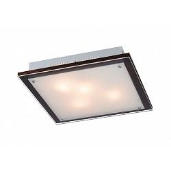 Накладной светильник SonexКвадратные<br>Артикул - SN_4242V,Бренд - Sonex (Россия),Коллекция - Ferola Vengue,Гарантия, месяцы - 24,Высота, мм - 65,Тип лампы - компактная люминесцентная [КЛЛ] ИЛИнакаливания ИЛИсветодиодная [LED],Общее кол-во ламп - 4,Напряжение питания лампы, В - 220,Максимальная мощность лампы, Вт - 60,Лампы в комплекте - отсутствуют,Цвет плафонов и подвесок - белый,Тип поверхности плафонов - матовый,Материал плафонов и подвесок - стекло,Цвет арматуры - венге, хром,Тип поверхности арматуры - матовый,Материал арматуры - дерево, металл,Возможность подлючения диммера - можно, если установить лампу накаливания,Тип цоколя лампы - E27,Класс электробезопасности - I,Общая мощность, Вт - 240,Степень пылевлагозащиты, IP - 20,Диапазон рабочих температур - комнатная температура<br>