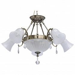 Подвесная люстра MW-LightСветодиодные<br>Артикул - MW_317014108,Бренд - MW-Light (Германия),Коллекция - Афродита 5,Гарантия, месяцы - 24,Высота, мм - 710,Тип лампы - компактная люминесцентная [КЛЛ] ИЛИнакаливания ИЛИсветодиодная [LED],Общее кол-во ламп - 8,Напряжение питания лампы, В - 220,Максимальная мощность лампы, Вт - 60,Лампы в комплекте - отсутствуют,Цвет плафонов и подвесок - белый, неокрашенный,Тип поверхности плафонов - матовый, прозрачный,Материал плафонов и подвесок - стекло, хрусталь,Цвет арматуры - бронза античная,Тип поверхности арматуры - матовый, рельефный,Материал арматуры - металл,Возможность подлючения диммера - можно, если установить лампу накаливания,Тип цоколя лампы - E14,Класс электробезопасности - I,Общая мощность, Вт - 480,Степень пылевлагозащиты, IP - 20,Диапазон рабочих температур - комнатная температура,Дополнительные параметры - способ крепления светильника к потолку - на крюке, регулируется по высоте<br>