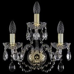 Бра Bohemia Ivele CrystalБолее 1 лампы<br>Артикул - BI_1400_3,Бренд - Bohemia Ivele Crystal (Чехия),Коллекция - 1400,Гарантия, месяцы - 24,Время изготовления, дней - 1,Высота, мм - 350,Размер упаковки, мм - 250x180x170,Тип лампы - компактная люминесцентная [КЛЛ] ИЛИнакаливания ИЛИсветодиодная [LED],Общее кол-во ламп - 3,Напряжение питания лампы, В - 220,Максимальная мощность лампы, Вт - 40,Лампы в комплекте - отсутствуют,Цвет плафонов и подвесок - неокрашенный,Тип поверхности плафонов - прозрачный,Материал плафонов и подвесок - хрусталь,Цвет арматуры - золото, неокрашенный,Тип поверхности арматуры - глянцевый, прозрачный,Материал арматуры - металл, стекло,Возможность подлючения диммера - можно, если установить лампу накаливания,Форма и тип колбы - свеча,Тип цоколя лампы - E14,Класс электробезопасности - I,Общая мощность, Вт - 120,Степень пылевлагозащиты, IP - 20,Диапазон рабочих температур - комнатная температура,Дополнительные параметры - светильник предназначен для использования со скрытой проводкой<br>