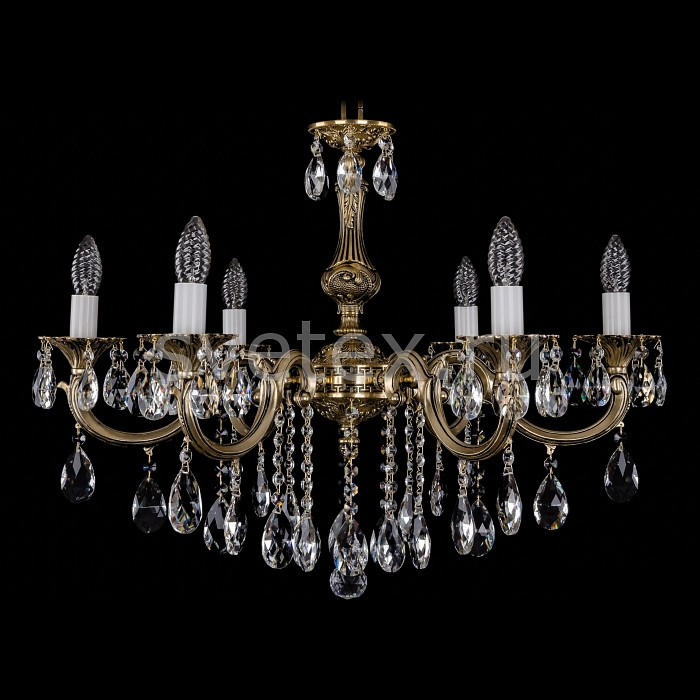 Фото Подвесная люстра Bohemia Ivele Crystal 1702 1702/6/B/GB