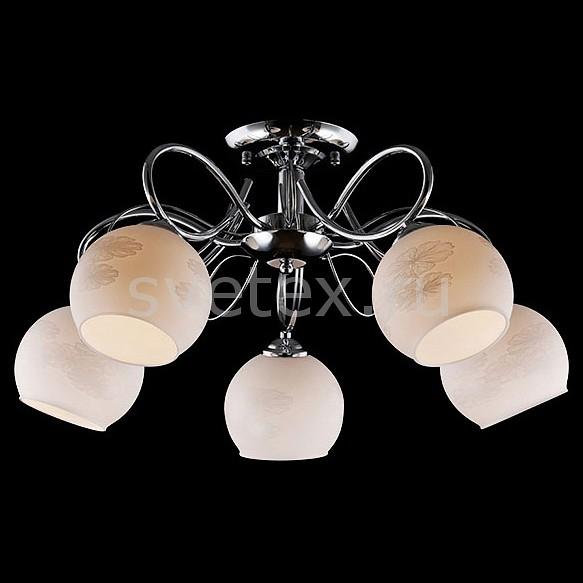 Люстра на штанге ОптимаЛюстры<br>Артикул - EV_76404,Бренд - Оптима (Китай),Коллекция - Жасмин,Гарантия, месяцы - 24,Высота, мм - 280,Диаметр, мм - 610,Тип лампы - компактная люминесцентная [КЛЛ] ИЛИнакаливания ИЛИсветодиодная [LED],Общее кол-во ламп - 5,Напряжение питания лампы, В - 220,Максимальная мощность лампы, Вт - 60,Лампы в комплекте - отсутствуют,Цвет плафонов и подвесок - белый с рисунком,Тип поверхности плафонов - матовый,Материал плафонов и подвесок - стекло,Цвет арматуры - хром,Тип поверхности арматуры - глянцевый,Материал арматуры - металл,Количество плафонов - 5,Возможность подлючения диммера - можно, если установить лампу накаливания,Тип цоколя лампы - E27,Класс электробезопасности - I,Общая мощность, Вт - 300,Степень пылевлагозащиты, IP - 20,Диапазон рабочих температур - комнатная температура,Дополнительные параметры - способ крепления светильника к потолку - на монтажной пластине<br>