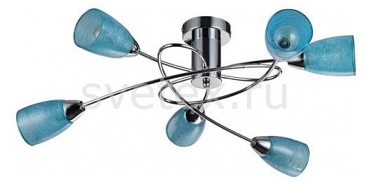Люстра на штанге FreyaЛюстры<br>Артикул - MY_FR103-06-BL,Бренд - Freya (Германия),Коллекция - Flash,Гарантия, месяцы - 24,Высота, мм - 240,Диаметр, мм - 660,Тип лампы - компактная люминесцентная [КЛЛ] ИЛИнакаливания ИЛИсветодиодная  [LED],Общее кол-во ламп - 5,Напряжение питания лампы, В - 220,Максимальная мощность лампы, Вт - 40,Лампы в комплекте - отсутствуют,Цвет плафонов и подвесок - синий,Тип поверхности плафонов - прозрачный,Материал плафонов и подвесок - стекло,Цвет арматуры - хром,Тип поверхности арматуры - глянцевый,Материал арматуры - металл,Количество плафонов - 5,Возможность подлючения диммера - можно, если установить лампу накаливания,Тип цоколя лампы - E14,Класс электробезопасности - I,Общая мощность, Вт - 200,Степень пылевлагозащиты, IP - 20,Диапазон рабочих температур - комнатная температура,Дополнительные параметры - способ крепления светильника к потолку - на монтажной пластине<br>