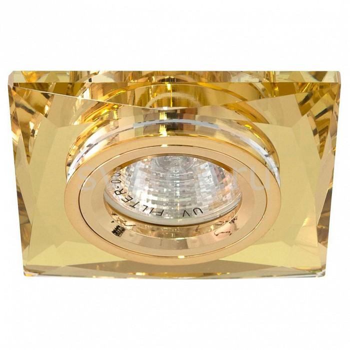 Встраиваемый светильник FeronСветильники для натяжных потолков<br>Артикул - FE_18636,Бренд - Feron (Китай),Коллекция - 8150-2,Гарантия, месяцы - 24,Длина, мм - 90,Ширина, мм - 90,Глубина, мм - 23,Размер врезного отверстия, мм - 60,Тип лампы - галогеновая ИЛИсветодиодная [LED],Общее кол-во ламп - 1,Напряжение питания лампы, В - 12,Максимальная мощность лампы, Вт - 50,Лампы в комплекте - отсутствуют,Цвет арматуры - желтая, золото,Тип поверхности арматуры - глянцевый, прозрачный,Материал арматуры - металл, стекло,Возможность подлючения диммера - можно, если установить галогеновую лампу,Необходимые компоненты - трансформатор 12В,Компоненты, входящие в комплект - нет,Форма и тип колбы - полусферическая с рефлектором,Тип цоколя лампы - GU5.3,Класс электробезопасности - I,Напряжение питания, В - 220,Степень пылевлагозащиты, IP - 20,Диапазон рабочих температур - комнатная температура<br>