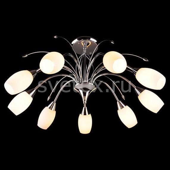 Люстра на штанге EurosvetЛюстры<br>Артикул - EV_5143,Бренд - Eurosvet (Китай),Коллекция - 22080,Гарантия, месяцы - 24,Высота, мм - 370,Диаметр, мм - 700,Тип лампы - компактная люминесцентная [КЛЛ] ИЛИнакаливания ИЛИсветодиодная [LED],Общее кол-во ламп - 9,Напряжение питания лампы, В - 220,Максимальная мощность лампы, Вт - 60,Лампы в комплекте - отсутствуют,Цвет плафонов и подвесок - белый,Тип поверхности плафонов - матовый,Материал плафонов и подвесок - стекло,Цвет арматуры - хром,Тип поверхности арматуры - глянцевый,Материал арматуры - металл,Количество плафонов - 9,Возможность подлючения диммера - можно, если установить лампу накаливания,Тип цоколя лампы - E14,Класс электробезопасности - I,Общая мощность, Вт - 540,Степень пылевлагозащиты, IP - 20,Диапазон рабочих температур - комнатная температура,Дополнительные параметры - способ крепления светильника к потолку - на монтажной пластине<br>