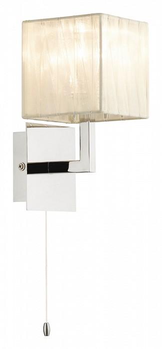 Бра Odeon LightТекстильный плафон<br>Артикул - OD_2566_1W,Бренд - Odeon Light (Италия),Коллекция - Mons,Гарантия, месяцы - 24,Время изготовления, дней - 1,Ширина, мм - 110,Высота, мм - 200,Выступ, мм - 160,Тип лампы - галогеновая,Общее кол-во ламп - 1,Напряжение питания лампы, В - 220,Максимальная мощность лампы, Вт - 40,Цвет лампы - белый теплый,Лампы в комплекте - галогеновая G9,Цвет плафонов и подвесок - белый, неокрашенный,Тип поверхности плафонов - матовый,Материал плафонов и подвесок - органза, стекло,Цвет арматуры - хром,Тип поверхности арматуры - глянцевый,Материал арматуры - металл,Количество плафонов - 1,Наличие выключателя, диммера или пульта ДУ - выключатель шнуровой,Возможность подлючения диммера - можно,Форма и тип колбы - пальчиковая,Тип цоколя лампы - G9,Цветовая температура, K - 2800 - 3200 K,Экономичнее лампы накаливания - на 50%,Класс электробезопасности - I,Степень пылевлагозащиты, IP - 20,Диапазон рабочих температур - комнатная температура,Дополнительные параметры - светильник предназначен для использования со скрытой проводкой<br>