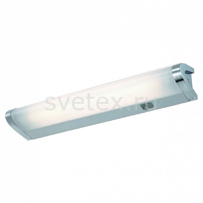 Накладной светильник Arte LampС 1 плафоном<br>Артикул - AR_A7508AP-1CC,Бренд - Arte Lamp (Италия),Коллекция - Cabinet,Гарантия, месяцы - 24,Длина, мм - 339,Ширина, мм - 70,Выступ, мм - 80,Тип лампы - люминесцентная,Общее кол-во ламп - 1,Напряжение питания лампы, В - 220,Максимальная мощность лампы, Вт - 8,Цвет лампы - белый,Лампы в комплекте - люминесцентная G5,Цвет плафонов и подвесок - белый,Тип поверхности плафонов - матовый,Материал плафонов и подвесок - полимер,Цвет арматуры - хром,Тип поверхности арматуры - глянцевый,Материал арматуры - дюралюминий,Количество плафонов - 1,Наличие выключателя, диммера или пульта ДУ - выключатель,Возможность подлючения диммера - нельзя,Форма и тип колбы - двухцокольная цилиндрическая,Тип цоколя лампы - G5,Цветовая температура, K - 4000 K,Класс электробезопасности - I,Степень пылевлагозащиты, IP - 20,Диапазон рабочих температур - комнатная температура,Дополнительные параметры - способ крепления светильника к стене - на монтажной пластине, светильник предназначен для использования со скрытой проводкой<br>