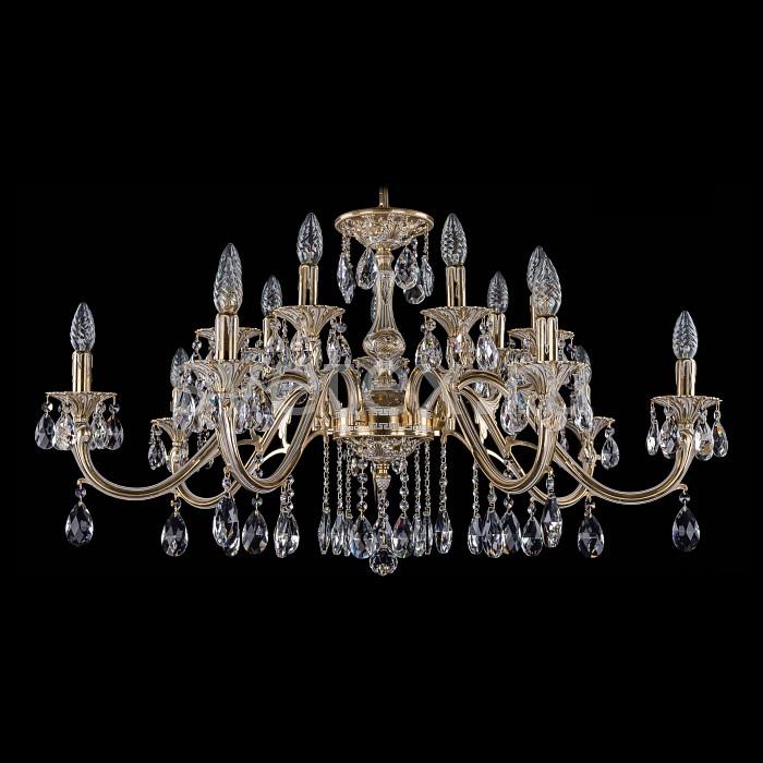 Фото Подвесная люстра Bohemia Ivele Crystal 1703 1703/14/360/A/GW