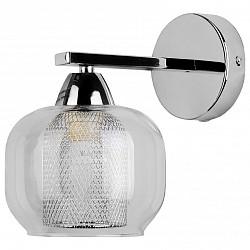 Бра TopLightМеталлический плафон<br>Артикул - TPL_TL4110B-01CH,Бренд - TopLight (Россия),Коллекция - Diane,Гарантия, месяцы - 24,Высота, мм - 200,Тип лампы - компактная люминесцентная [КЛЛ] ИЛИнакаливания ИЛИсветодиодная [LED],Общее кол-во ламп - 1,Напряжение питания лампы, В - 220,Максимальная мощность лампы, Вт - 60,Лампы в комплекте - отсутствуют,Цвет плафонов и подвесок - неокрашенный, хром,Тип поверхности плафонов - глянцевый, прозрачный,Материал плафонов и подвесок - металл, стекло,Цвет арматуры - хром,Тип поверхности арматуры - глянцевый,Материал арматуры - металл,Возможность подлючения диммера - можно, если установить лампу накаливания,Тип цоколя лампы - E14,Класс электробезопасности - I,Степень пылевлагозащиты, IP - 20,Диапазон рабочих температур - комнатная температура,Дополнительные параметры - способ крепления светильника к стене - на монтажной пластине, светильник предназначен для использования со скрытой проводкой<br>
