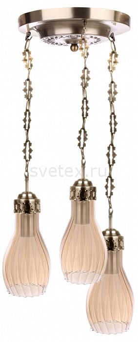 Подвесной светильник 33 идеиСветодиодные<br>Артикул - ZZ_PND.104.03.01.AB-A.03_3,Бренд - 33 идеи (Россия),Коллекция - PND.104,Высота, мм - 990,Диаметр, мм - 390,Размер упаковки, мм - 340x260x60, 3*140x140x240,Тип лампы - компактная люминесцентная [КЛЛ] ИЛИнакаливания ИЛИсветодиодная [LED],Общее кол-во ламп - 3,Напряжение питания лампы, В - 220,Максимальная мощность лампы, Вт - 75,Лампы в комплекте - отсутствуют,Цвет плафонов и подвесок - бежевый,Тип поверхности плафонов - прозрачный, рельефный,Материал плафонов и подвесок - стекло,Цвет арматуры - латунь античная,Тип поверхности арматуры - глянцевый, рельефный,Материал арматуры - металл,Количество плафонов - 3,Возможность подлючения диммера - можно, если установить лампу накаливания,Тип цоколя лампы - E27,Класс электробезопасности - I,Общая мощность, Вт - 225,Степень пылевлагозащиты, IP - 20,Диапазон рабочих температур - комнатная температура,Дополнительные параметры - диаметр основания светильника 250 мм, диаметр плафона 140 мм, способ крепления светильника к потолку – на монтажной пластине<br>