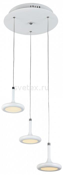 Подвесной светильник FavouriteБарные<br>Артикул - FV_1648-3P,Бренд - Favourite (Германия),Коллекция - Moment,Гарантия, месяцы - 24,Высота, мм - 180-1680,Диаметр, мм - 300,Тип лампы - светодиодная [LED],Общее кол-во ламп - 3,Максимальная мощность лампы, Вт - 5,Цвет лампы - белый,Лампы в комплекте - светодиодные [LED],Цвет плафонов и подвесок - белый,Тип поверхности плафонов - матовый,Материал плафонов и подвесок - акрил, металл,Цвет арматуры - белый,Тип поверхности арматуры - матовый,Материал арматуры - металл,Количество плафонов - 3,Возможность подлючения диммера - нельзя,Цветовая температура, K - 4000 K,Экономичнее лампы накаливания - в 10 раз,Класс электробезопасности - I,Напряжение питания, В - 220,Общая мощность, Вт - 15,Степень пылевлагозащиты, IP - 20,Диапазон рабочих температур - комнатная температура,Дополнительные параметры - способ крепления светильника к потолку - на крюке, регулируется по высоте<br>