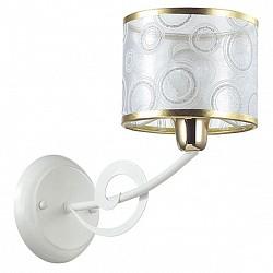 Бра LumionТекстильный плафон<br>Артикул - LMN_3232_1W,Бренд - Lumion (Италия),Коллекция - Violina,Гарантия, месяцы - 24,Высота, мм - 210,Размер упаковки, мм - 180x320x320,Тип лампы - компактная люминесцентная [КЛЛ] ИЛИнакаливания ИЛИсветодиодная [LED],Общее кол-во ламп - 1,Напряжение питания лампы, В - 220,Максимальная мощность лампы, Вт - 40,Лампы в комплекте - отсутствуют,Цвет плафонов и подвесок - неокрашенный с рисунком и золотой каймой,Тип поверхности плафонов - прозрачный,Материал плафонов и подвесок - органза,Цвет арматуры - белый,Тип поверхности арматуры - матовый,Материал арматуры - металл,Возможность подлючения диммера - можно, если установить лампу накаливания,Тип цоколя лампы - E14,Класс электробезопасности - I,Степень пылевлагозащиты, IP - 20,Диапазон рабочих температур - комнатная температура,Дополнительные параметры - способ крепления светильника на стене – на монтажной пластине, светильник предназначен для использования со скрытой проводкой<br>