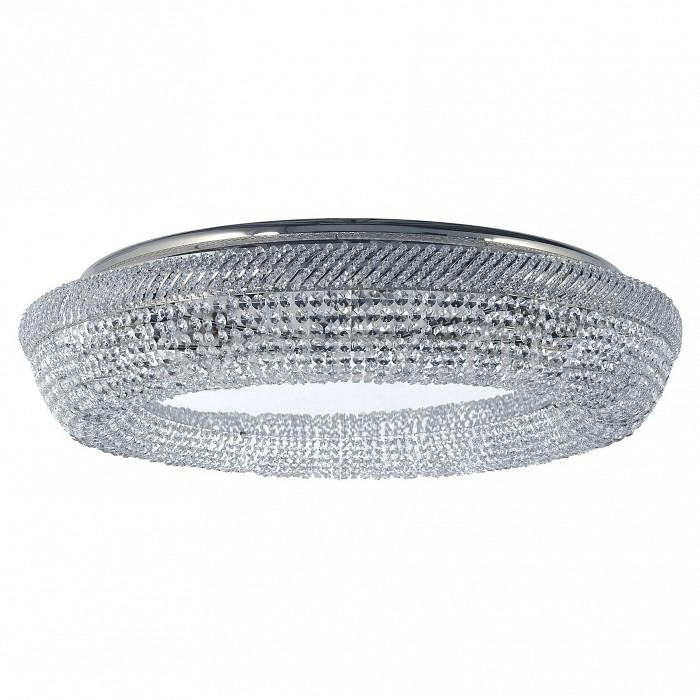 Потолочная люстра Dio D'ArteБолее 6 ламп<br>Артикул - DDA_Bari_E_1.4.80.200_N,Бренд - Dio D'Arte (Италия),Коллекция - Bari,Гарантия, месяцы - 24,Высота, мм - 150,Диаметр, мм - 800,Тип лампы - компактная люминесцентная [КЛЛ] ИЛИнакаливания ИЛИсветодиодная [LED],Общее кол-во ламп - 8,Напряжение питания лампы, В - 220,Максимальная мощность лампы, Вт - 60,Лампы в комплекте - отсутствуют,Цвет плафонов и подвесок - неокрашенный,Тип поверхности плафонов - прозрачный,Материал плафонов и подвесок - хрусталь Asfour,Цвет арматуры - никель,Тип поверхности арматуры - матовый,Материал арматуры - металл,Возможность подлючения диммера - можно, если установить лампу накаливания,Тип цоколя лампы - E27,Класс электробезопасности - I,Общая мощность, Вт - 480,Степень пылевлагозащиты, IP - 20,Диапазон рабочих температур - комнатная температура,Дополнительные параметры - способ крепления светильника к потолку - на монтажной пластине<br>