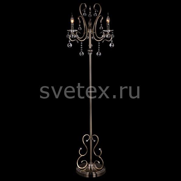 Фото Торшер Eurosvet 12505 12505/3F античная бронза Strotskis