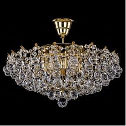 Люстра на штанге Bohemia Ivele CrystalБолее 6 ламп<br>Артикул - BI_7331_50_G,Бренд - Bohemia Ivele Crystal (Чехия),Коллекция - 7331,Гарантия, месяцы - 12,Высота, мм - 250,Диаметр, мм - 500,Размер упаковки, мм - 510x510x200,Тип лампы - компактная люминесцентная [КЛЛ] ИЛИнакаливания ИЛИсветодиодная [LED],Общее кол-во ламп - 8,Напряжение питания лампы, В - 220,Максимальная мощность лампы, Вт - 40,Лампы в комплекте - отсутствуют,Цвет плафонов и подвесок - неокрашенный,Тип поверхности плафонов - прозрачный,Материал плафонов и подвесок - хрусталь,Цвет арматуры - золото,Тип поверхности арматуры - глянцевый, рельефный,Материал арматуры - металл,Возможность подлючения диммера - можно, если установить лампу накаливания,Тип цоколя лампы - E14,Класс электробезопасности - I,Общая мощность, Вт - 320,Степень пылевлагозащиты, IP - 20,Диапазон рабочих температур - комнатная температура,Дополнительные параметры - способ крепления светильника к потолку – на крюке<br>