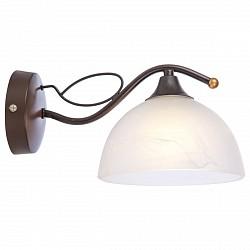 Бра GloboС 1 лампой<br>Артикул - GB_68412W,Бренд - Globo (Австрия),Коллекция - Aries I,Гарантия, месяцы - 24,Высота, мм - 140,Размер упаковки, мм - 190х160х26,Тип лампы - компактная люминесцентная [КЛЛ] ИЛИнакаливания ИЛИсветодиодная [LED],Общее кол-во ламп - 1,Напряжение питания лампы, В - 220,Максимальная мощность лампы, Вт - 60,Лампы в комплекте - отсутствуют,Цвет плафонов и подвесок - белый алебастр,Тип поверхности плафонов - матовый,Материал плафонов и подвесок - стекло,Цвет арматуры - коричневый,Тип поверхности арматуры - матовый,Материал арматуры - металл,Возможность подлючения диммера - можно, если установить лампу накаливания,Тип цоколя лампы - E27,Класс электробезопасности - I,Степень пылевлагозащиты, IP - 20,Диапазон рабочих температур - комнатная температура,Дополнительные параметры - светильник предназначен для использования со скрытой проводкой<br>