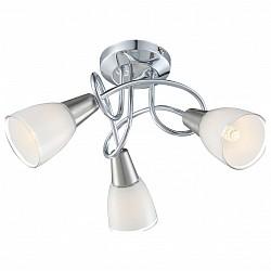Люстры на штанге GloboНе более 4 ламп<br>Артикул - GB_63177-3,Бренд - Globo (Австрия),Коллекция - Timon,Гарантия, месяцы - 24,Высота, мм - 200,Диаметр, мм - 360,Тип лампы - компактная люминесцентная [КЛЛ] ИЛИнакаливания ИЛИсветодиодная [LED],Общее кол-во ламп - 3,Напряжение питания лампы, В - 220,Максимальная мощность лампы, Вт - 40,Лампы в комплекте - отсутствуют,Цвет плафонов и подвесок - белый с каймой,Тип поверхности плафонов - матовый,Материал плафонов и подвесок - стекло,Цвет арматуры - хром,Тип поверхности арматуры - глянцевый,Материал арматуры - металл,Возможность подлючения диммера - можно, если установить лампу накаливания,Тип цоколя лампы - E14,Класс электробезопасности - I,Общая мощность, Вт - 120,Степень пылевлагозащиты, IP - 20,Диапазон рабочих температур - комнатная температура,Дополнительные параметры - способ крепления светильника к потолку - на монтажной пластине<br>