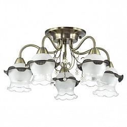 Потолочная люстра Lumion5 или 6 ламп<br>Артикул - LMN_3239_5C,Бренд - Lumion (Италия),Коллекция - Zidoni,Гарантия, месяцы - 24,Высота, мм - 270,Диаметр, мм - 540,Размер упаковки, мм - 180x420x350,Тип лампы - компактная люминесцентная [КЛЛ] ИЛИнакаливания ИЛИсветодиодная [LED],Общее кол-во ламп - 5,Напряжение питания лампы, В - 220,Максимальная мощность лампы, Вт - 60,Лампы в комплекте - отсутствуют,Цвет плафонов и подвесок - белый с каймой, бронза, жемчужный,Тип поверхности плафонов - матовый, прозрачный,Материал плафонов и подвесок - жемчуг искусственный, металл, стекло,Цвет арматуры - бронза,Тип поверхности арматуры - матовый, металлик,Материал арматуры - металл,Возможность подлючения диммера - можно, если установить лампу накаливания,Тип цоколя лампы - E14,Класс электробезопасности - I,Общая мощность, Вт - 300,Степень пылевлагозащиты, IP - 20,Диапазон рабочих температур - комнатная температура,Дополнительные параметры - способ крепления к потолку - на монтажной пластине<br>