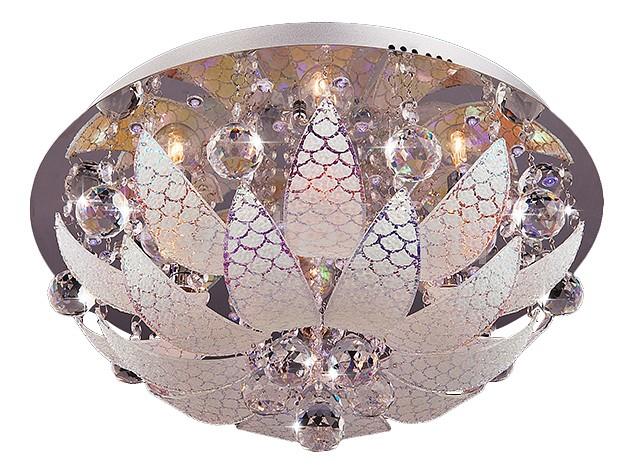 Накладной светильник EurosvetСветодиодные<br>Артикул - EV_70135,Бренд - Eurosvet (Китай),Коллекция - 5563,Гарантия, месяцы - 24,Высота, мм - 200,Диаметр, мм - 500,Тип лампы - компактная люминесцентная [КЛЛ] ИЛИнакаливания ИЛИсветодиодная [LED],Общее кол-во ламп - 6,Напряжение питания лампы, В - 220,Максимальная мощность лампы, Вт - 60,Лампы в комплекте - отсутствуют,Цвет плафонов и подвесок - белый с рисунком, неокрашенный,Тип поверхности плафонов - матовый, прозрачный,Материал плафонов и подвесок - стекло, хрусталь,Цвет арматуры - хром,Тип поверхности арматуры - глянцевый,Материал арматуры - металл,Наличие выключателя, диммера или пульта ДУ - пульт ДУ,Тип цоколя лампы - E14,Класс электробезопасности - I,Общая мощность, Вт - 360,Степень пылевлагозащиты, IP - 20,Диапазон рабочих температур - комнатная температура,Дополнительные параметры - способ крепления светильника к потолку - на монтажной пластине, светильник декорирован фиолетовыми, красными, синими светодиодами<br>