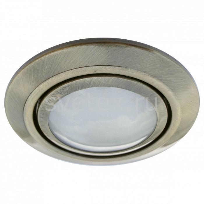 Фото Комплект из 3 встраиваемых светильников Arte Lamp Topic A2023PL-3AB