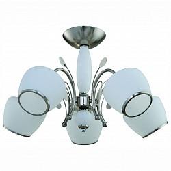 Люстра на штанге IDLamp5 или 6 ламп<br>Артикул - ID_842_5PF-whitechrome,Бренд - IDLamp (Италия),Коллекция - 842,Гарантия, месяцы - 24,Время изготовления, дней - 1,Высота, мм - 350,Диаметр, мм - 590,Тип лампы - компактная люминесцентная [КЛЛ] ИЛИнакаливания ИЛИсветодиодная [LED],Общее кол-во ламп - 5,Напряжение питания лампы, В - 220,Максимальная мощность лампы, Вт - 60,Лампы в комплекте - отсутствуют,Цвет плафонов и подвесок - белый с каймой,Тип поверхности плафонов - матовый,Материал плафонов и подвесок - стекло,Цвет арматуры - никель,Тип поверхности арматуры - глянцевый,Материал арматуры - металл,Возможность подлючения диммера - можно, если установить лампу накаливания,Тип цоколя лампы - E27,Класс электробезопасности - I,Общая мощность, Вт - 300,Степень пылевлагозащиты, IP - 20,Диапазон рабочих температур - комнатная температура,Дополнительные параметры - способ крепления светильника к потолку — на монтажной пластине<br>