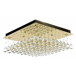 Накладной светильник Arti LampadariКвадратные<br>Артикул - AL_Flusso_H_1.4.50.616_G,Бренд - Arti Lampadari (Италия),Коллекция - Flusso,Гарантия, месяцы - 24,Высота, мм - 660,Тип лампы - галогеновая ИЛИсветодиодная [LED],Общее кол-во ламп - 8,Напряжение питания лампы, В - 220,Максимальная мощность лампы, Вт - 40,Лампы в комплекте - отсутствуют,Цвет плафонов и подвесок - неокрашенные,Тип поверхности плафонов - прозрачный,Материал плафонов и подвесок - хрусталь,Цвет арматуры - золото,Тип поверхности арматуры - глянцевый,Материал арматуры - металл,Возможность подлючения диммера - можно, если установить лампу накаливания,Форма и тип колбы - пальчиковая,Тип цоколя лампы - G9,Класс электробезопасности - I,Общая мощность, Вт - 320,Степень пылевлагозащиты, IP - 20,Диапазон рабочих температур - комнатная температура,Дополнительные параметры - способ крепления светильника к потолку – на монтажной пластине<br>