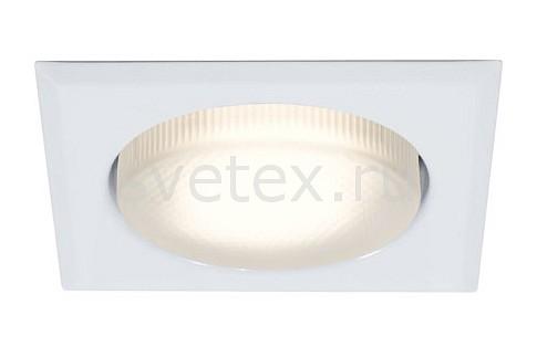 Комплект из 3 встраиваемых светильников PaulmannКвадратные<br>Артикул - PA_98633,Бренд - Paulmann (Германия),Коллекция - Quality,Гарантия, месяцы - 24,Длина, мм - 110,Ширина, мм - 110,Глубина, мм - 45,Размер врезного отверстия, мм - 86x86,Тип лампы - компактная люминесцентная [КЛЛ],Количество ламп - 1,Общее кол-во ламп - 3,Напряжение питания лампы, В - 220,Максимальная мощность лампы, Вт - 9,Цвет лампы - белый теплый,Лампы в комплекте - компактная люминесцентная [КЛЛ] GX53,Цвет арматуры - белый,Тип поверхности арматуры - матовый,Материал арматуры - металл,Форма и тип колбы - круглая плоская с рефлектором,Тип цоколя лампы - GX53,Цветовая температура, K - 2700 K,Класс электробезопасности - I,Степень пылевлагозащиты, IP - 20,Диапазон рабочих температур - комнатная температура<br>